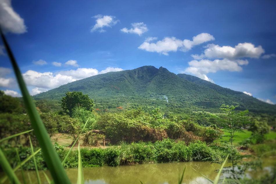 Mga barangay sa 2 bayan ng Pampanga nanganganib sa rockslide